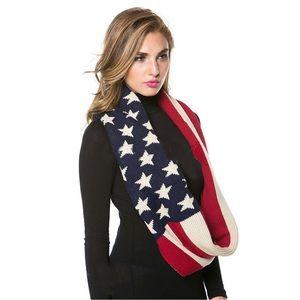 Accessories - Women's American Flag Infinity Scarf OSFM
